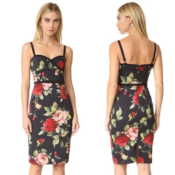 e01c9a0b Black Halo Dresses | Daria Floral Sheath Dress | Poshmark